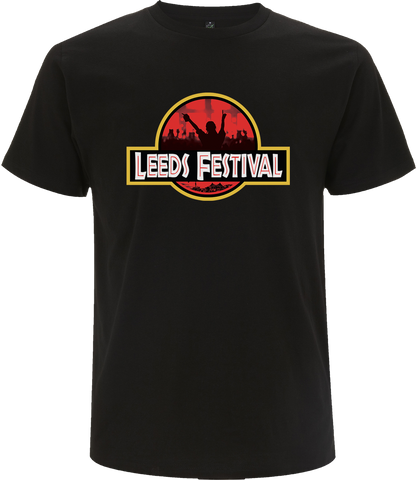 Leeds Festival 2017 'Crowd Logo' Black T-Shirt