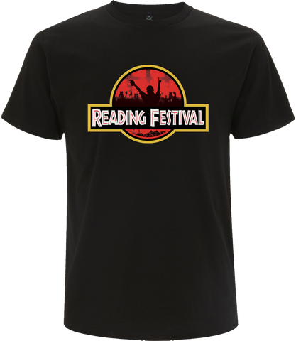 Reading Festival 2017 'Crowd Logo' Black T-Shirt