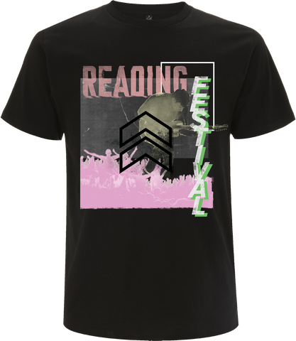 Reading Festival 2017 'Cut Zine Up' Black T-Shirt