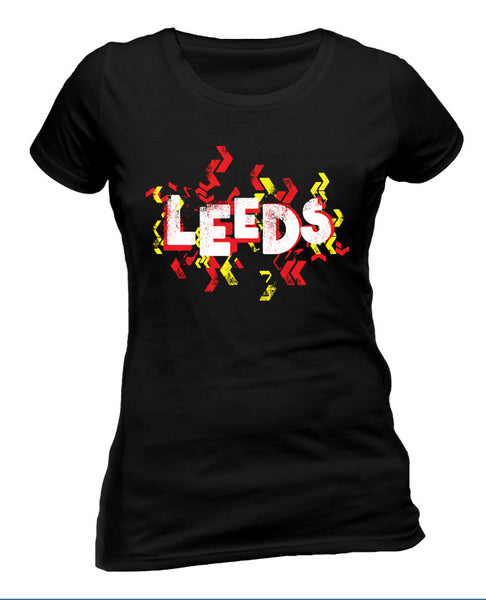 Leeds Festival 2015 (Event Logo) Black Ladies T-Shirt
