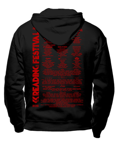 Reading Festival 2015 (Event Logo) Black Pullover Hoodie