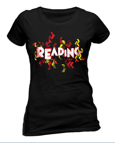 Reading Festival 2015 (Event Logo) Black Ladies T-Shirt