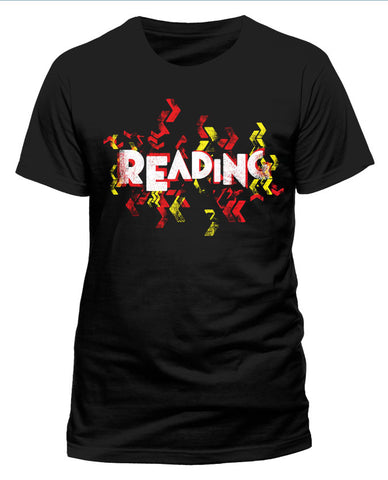 Reading Festival 2015 (Event Logo) Black Mens T-Shirt