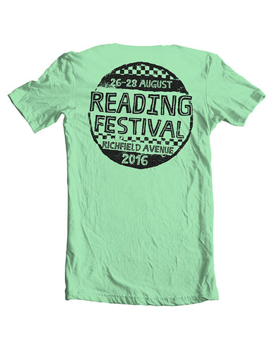 Reading Festival 2016 'Hand Drawn' Mint Green T-Shirt