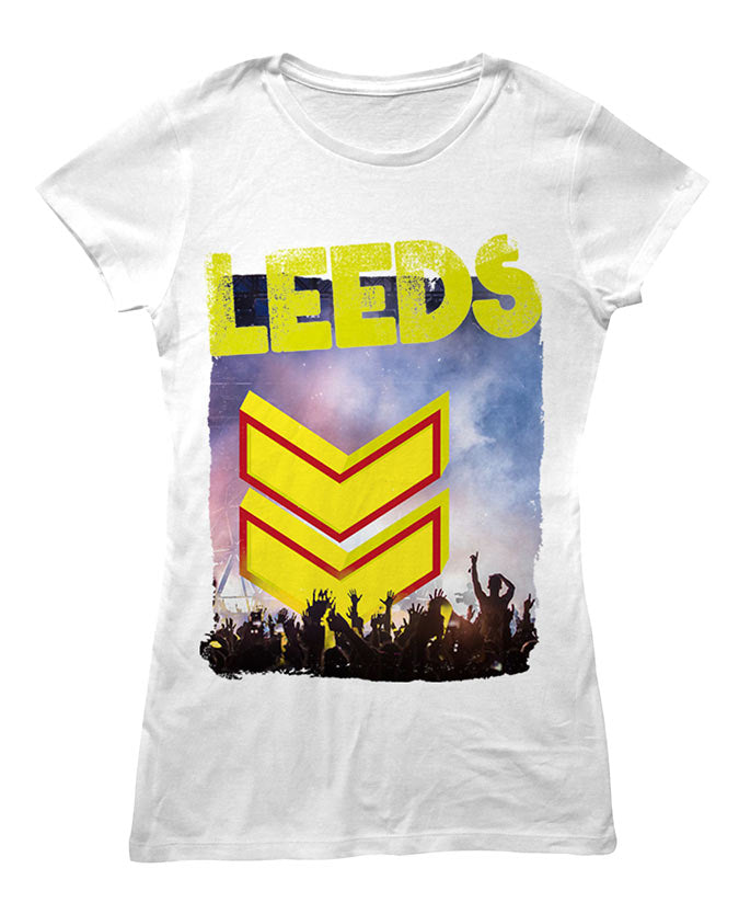 Leeds Festival 2016 'Photo Event' White Ladies T-Shirt