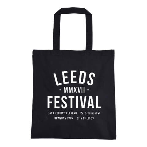 Leeds Festival 2017 'Numerals' Tote Bag *ONLINE EXCLUSIVE*