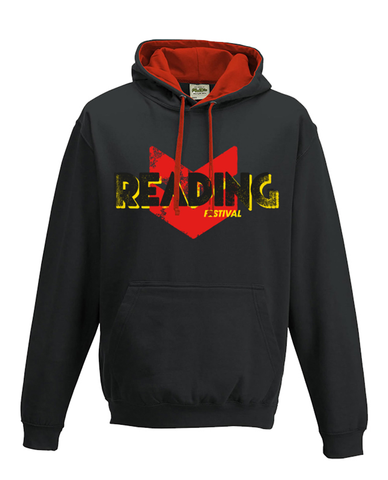 Reading Festival 2016 'Event Logo' Black Hoodie