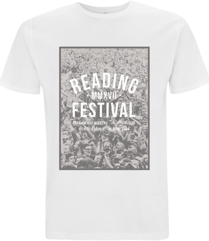 Reading Festival 2017 'Numerals' White T-Shirt