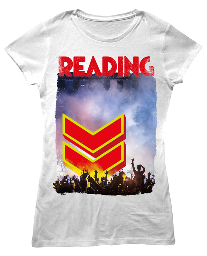 Reading Festival 2016 'Photo Event' White Ladies T-Shirt