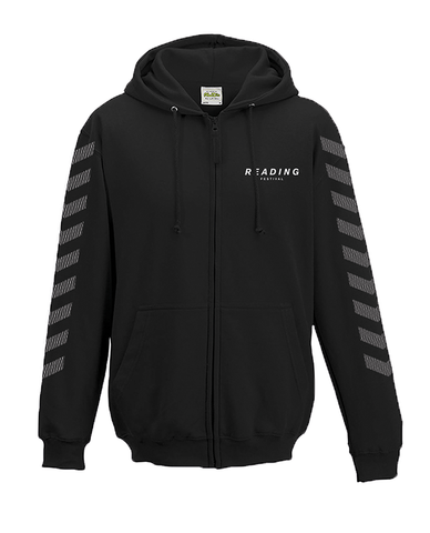 Reading Festival 2016 'Chevron' Black Zipped Hoodie