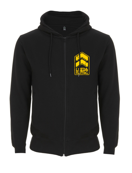 Leeds Festival 2017 'Stripes Event' Black Zipped Hoodie