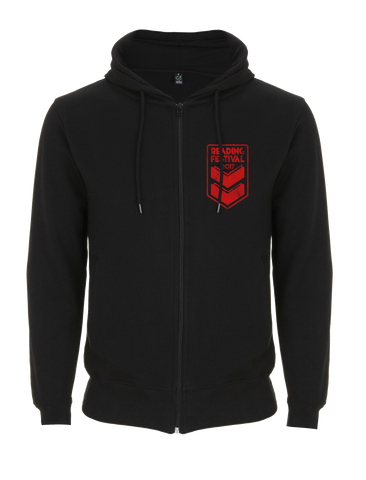 Reading Festival 2017 'Stripes Event' Black Zipped Hoodie