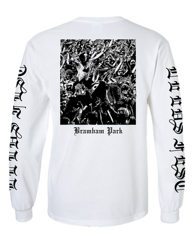 Leeds Festival 2017 'Metal Trend' White Long Sleeve T-Shirt