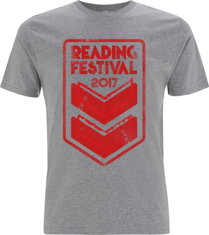 Reading Festival 2017 'Stripes Event' Grey T-Shirt