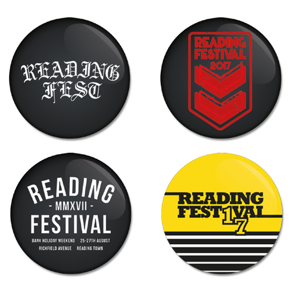 Reading Festival 2017 Badge Set