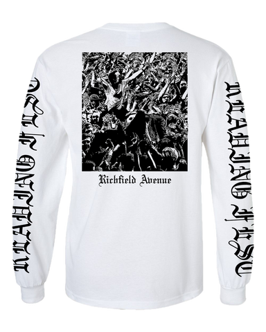 Reading Festival 2017 'Metal Trend' White Long Sleeve T-Shirt