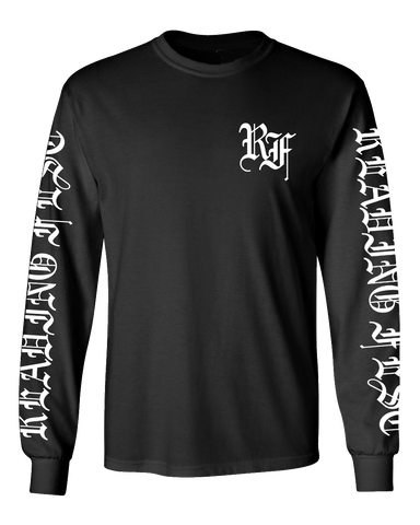Reading Festival 2017 'Metal Trend' Black Long Sleeve T-Shirt
