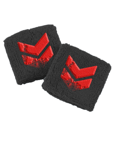 Reading Festival 'Red Chevron' Embroidered Wristband