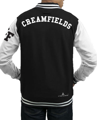Creamfields (2016 Logo) Black/White College Jacket