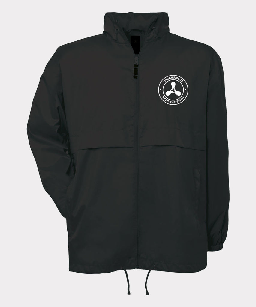 Keep The Faith Black Windbreaker