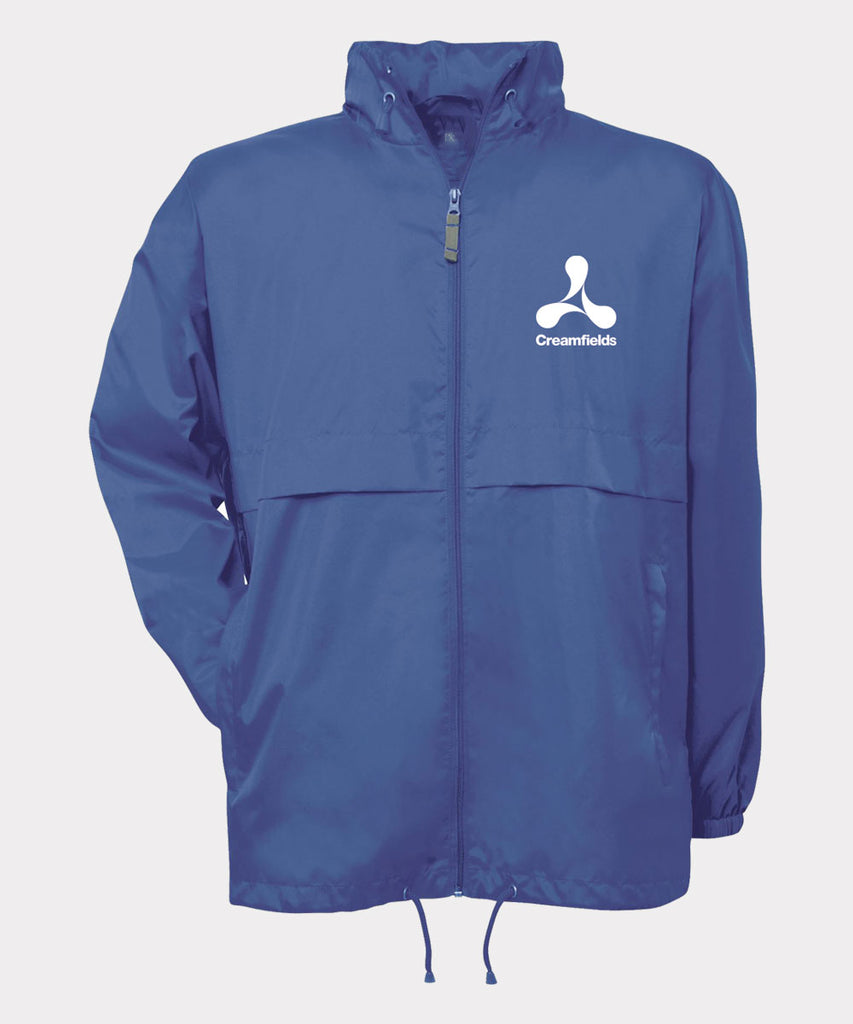 Creamfields Logo Royal Blue Windbreaker