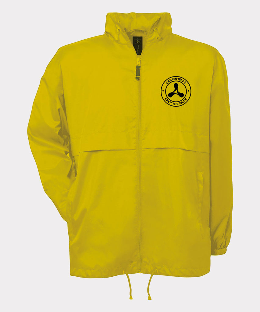 Keep The Faith Yellow Windbreaker
