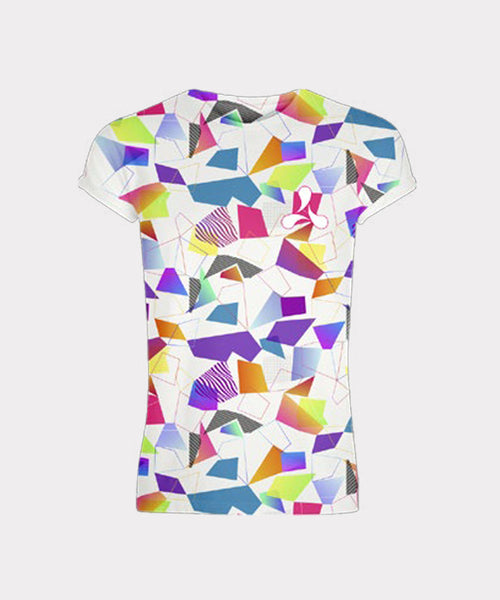 Patterned All Over Print T-Shirt