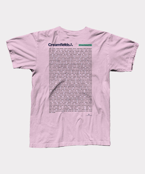 Crowded Pink Smoke 2018 Event Mens T-Shirt