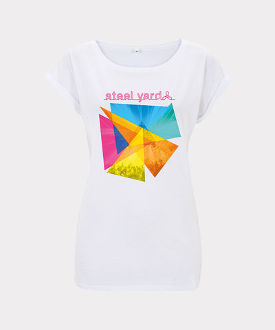 Steelyard - Triangles Ladies T-Shirt