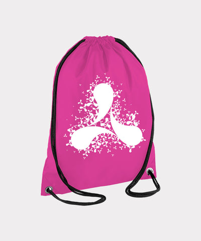 Scatter Pink Gym Bag