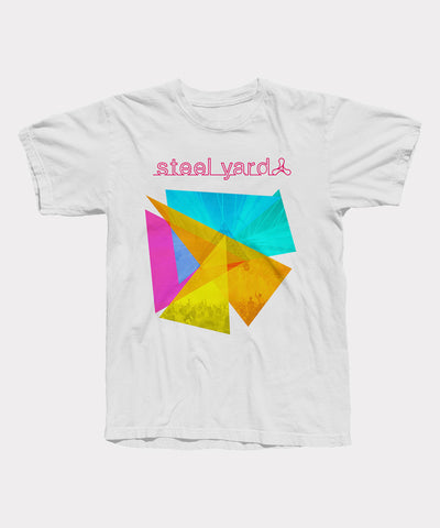 Steelyard Triangles Mens T-Shirt