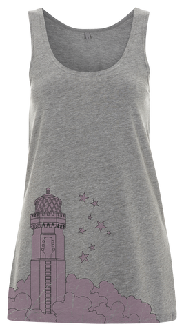 '2016 Lighthouse' Ladies Grey Vest