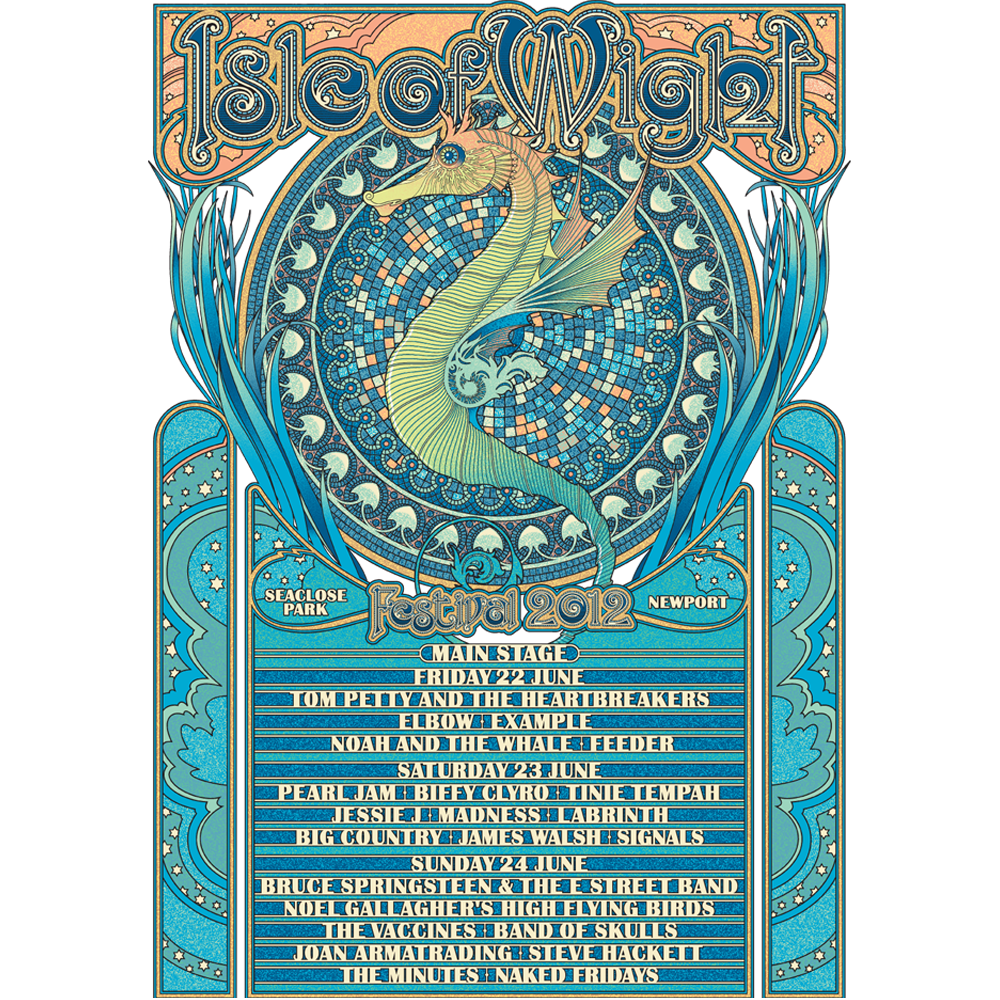 2012 Main Stage Poster