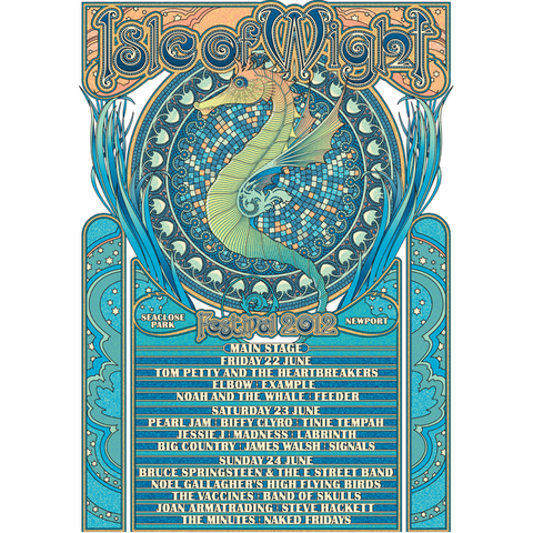 '2012' Main Stage Poster