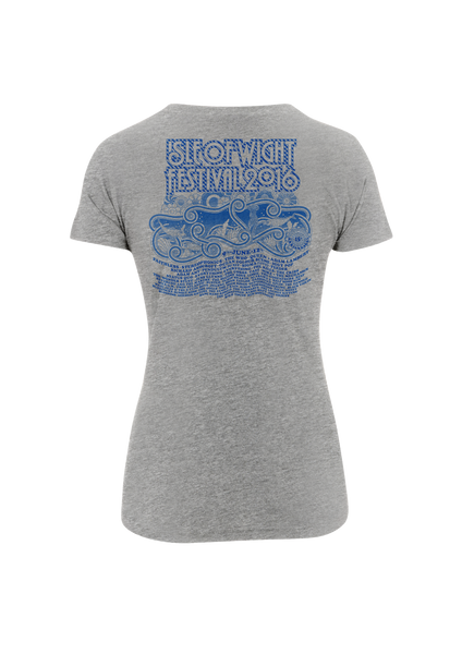 '2016 Rainbow Lighthouse' Ladies Grey T-Shirt