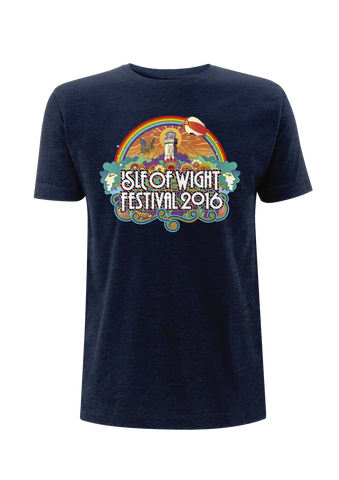 '2016 Rainbow Lighthouse' Youth Navy T-Shirt