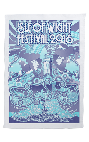 '2016 Lighthouse'  Tea Towel