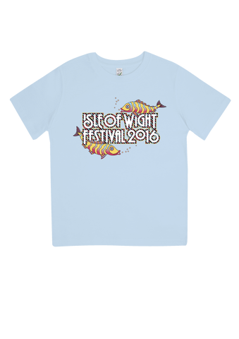 '2016 Fish Kids' Youth Light Blue T-Shirt