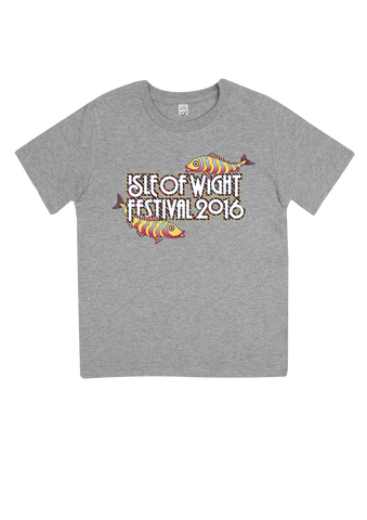'2016 Fish Kids' Youth Grey T-Shirt
