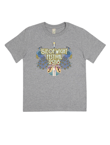 '2018 Peacocks Event' Grey T-Shirt (KIDS)