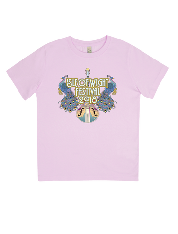 '2018 Peacocks Event' Pink T-Shirt (KIDS)