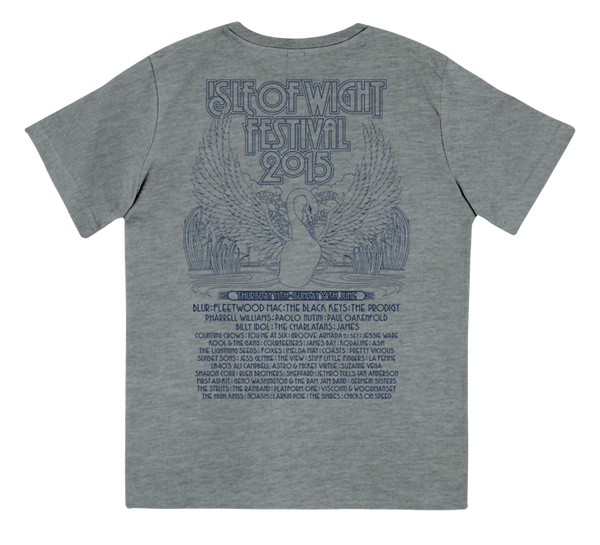 '2015 Swan Kids Event' Grey Youth T-Shirt