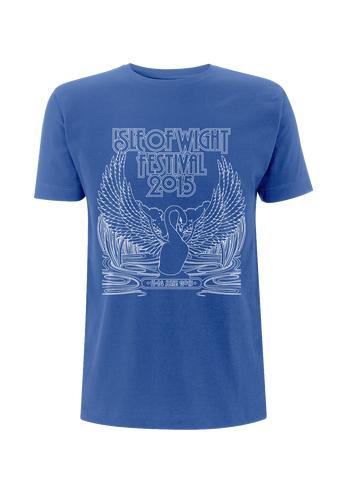 '2015 Swan Outline Event' Heather Royal T-Shirt