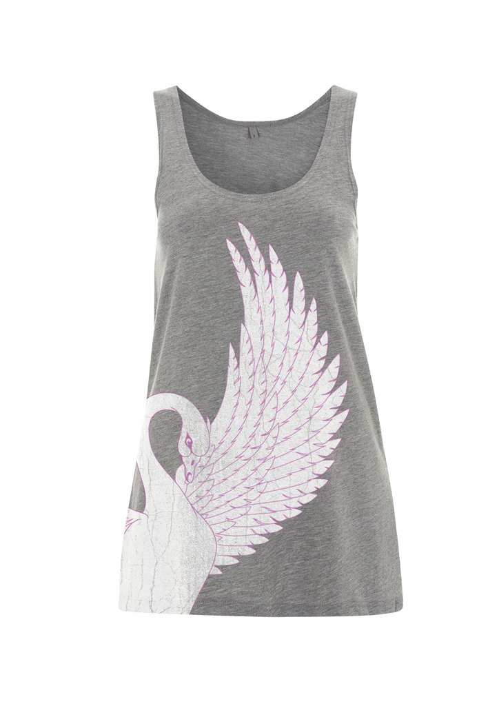 '2015 Swan' Ladies Grey Vest