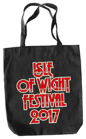 '2017 Logo' Black Tote Bag