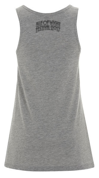 '2017 Guitar Side' Ladies Grey Vest