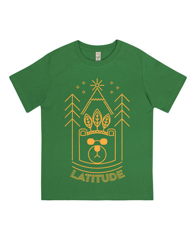 'Cool Bear 2016' Irish Green Kids T-Shirt