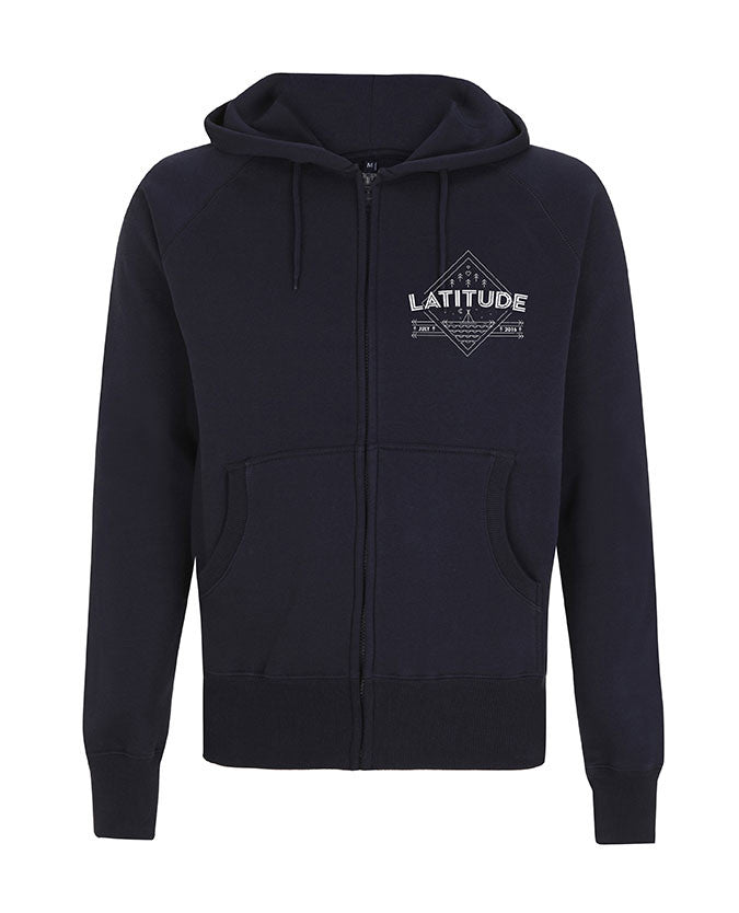 'Diamond Landscape Event 2016' Navy Zipped Hoodie