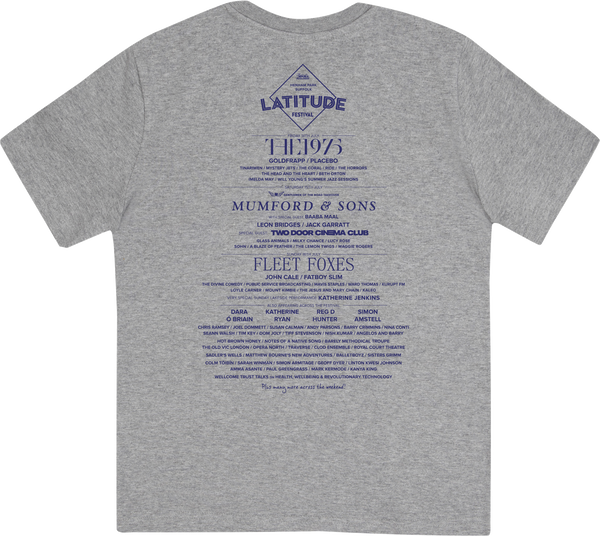 'Tile Logo 2017 Event' Grey Youth T-Shirt