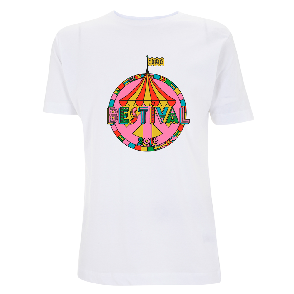 Bestival 2018 (Big Top Event) White T-Shirt